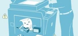 Máy in hay kẹt giấy ? Cách khắc phục!