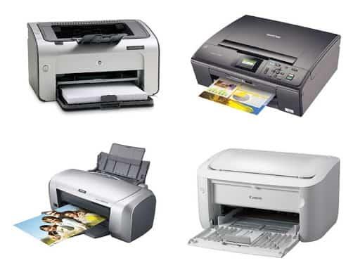 chọn máy in cũ thương hiệu nổi tiếng