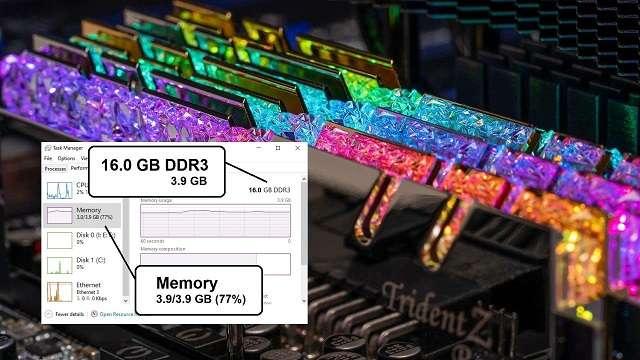 Lỗi windows không nhận đủ RAM