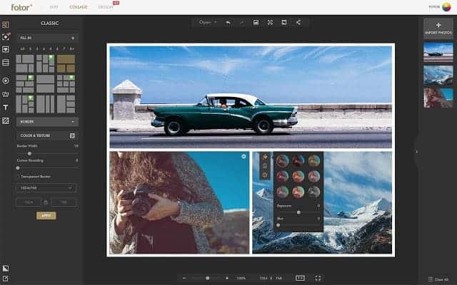 Ứng dụng Fotor