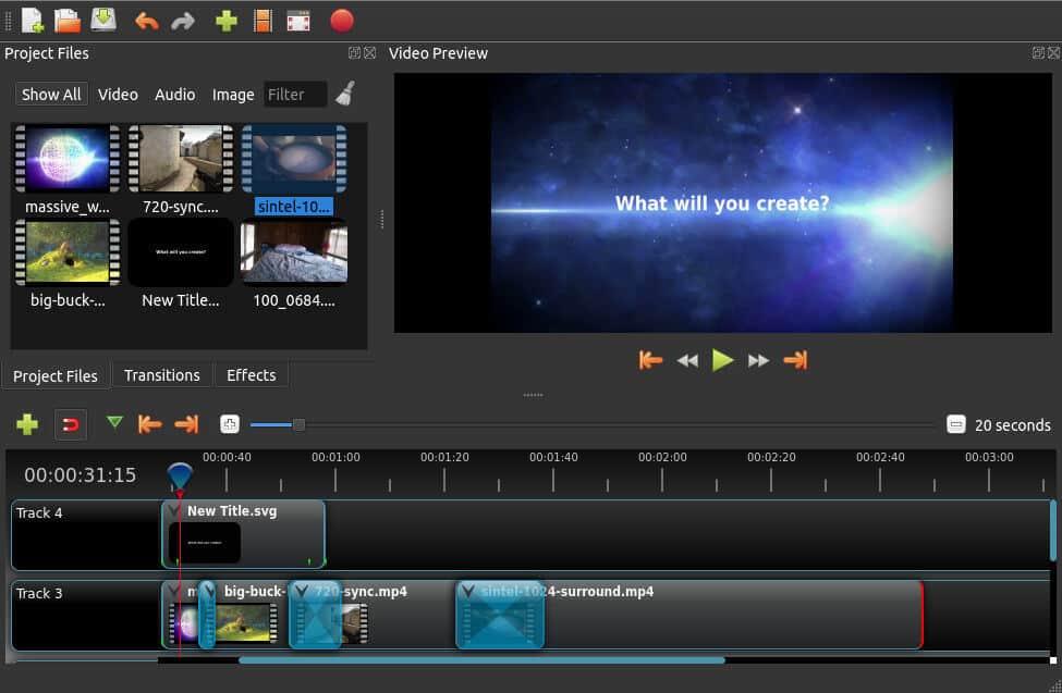 Phần mềm OpenShot