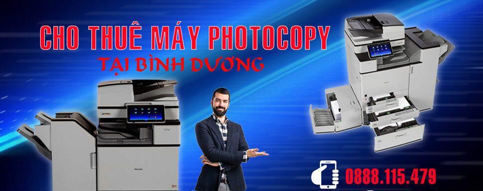 Dịch vụ cho thuê máy photocopy ở Bình Dương
