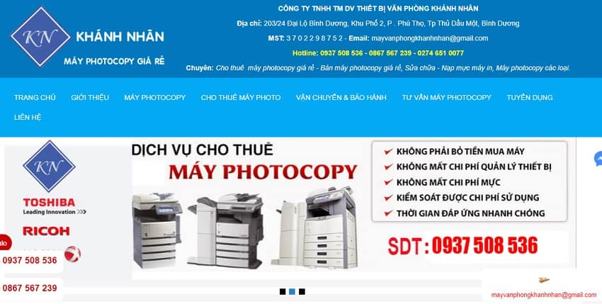 Công Ty TNHH TMDV Khánh Nhân