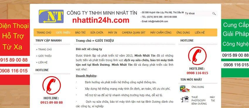 Công Ty TNHH Minh Nhất Tín