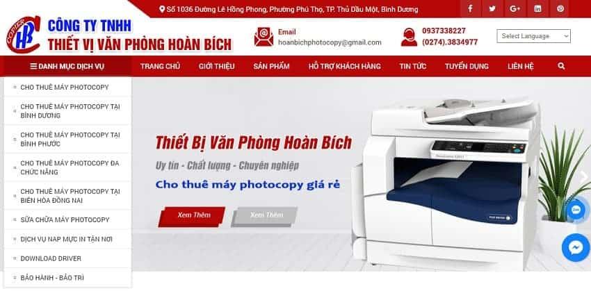 Công Ty TNHH TMDV Hoàn Bích