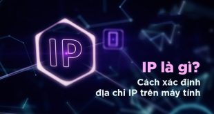 check địa chỉ IP máy tính