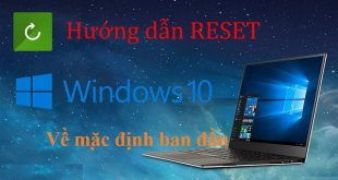 cách reset chương trình trên windows về trạng thái ban đầu