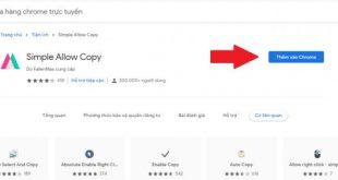 copy nội dung trên web không cho sao chép