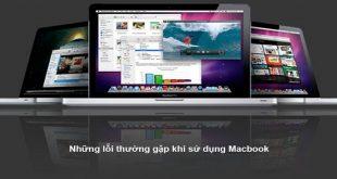 lỗi thường gặp trên macbook